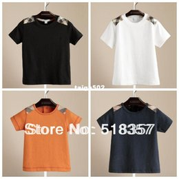 Wholesale 2013 summer fashion children s short sleeve T shirt a child baby boys and girls clothing