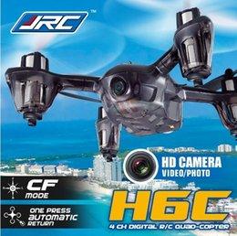 Drones caméra JJRC H6C Nouvelle version 2.4G 4CH Headless Mode Quadcopter avec 2MP Camera Mode2