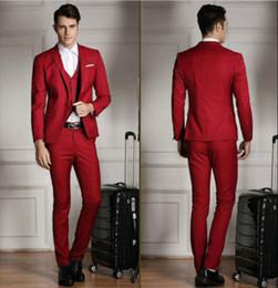Tuxedo White Jacket Red Vest Online | Tuxedo White Jacket Red Vest ...
