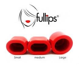 Wholesale 2015 New Popular item Fullips Lip Enhancer Plumper Naturally Fuller Bigger Plump Sexy Lips Pump Round Oval S M L sizes DHL