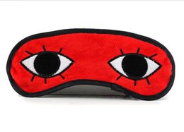Wholesale EMS Embroidery Gintama Okita Satoru goggles Gintama creative goggles Sleep Rest Travel Eye Mask Sponge Cover Blindfold Shade Eyeshade
