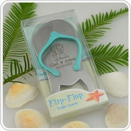 Wholesale Personalised Gift Boxed Thong Bottle Opener Beach Wedding Favour Bomboniere Great Gift Custom