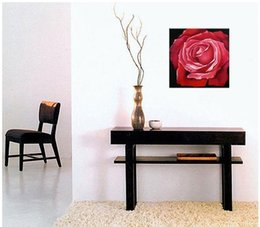 Wholesale Red Rose Modern Hand Painted Floral oil painting SE868 pure hand painted