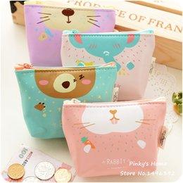Wholesale Cartoon Lovely Coin Purses Key Cute Bags Girls Purse Zipper Wallets Storage Case Cute Purse
