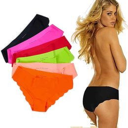 Wholesale fashion briefs short women pink seamless panties DuPont Ultra thin Cozy Women Underwear Briefs COLOR S M L XL Individual package