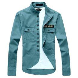 Wholesale Otoño Mens chaquetas verde militar de la chaqueta delgada de cuello alto Escudo de vestir exteriores fresca del nuevo verano Euro hombres del estilo envío de la gota MWJ023