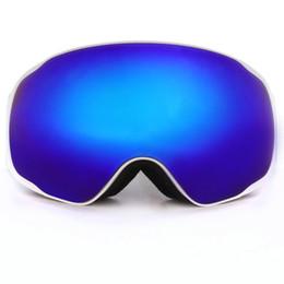Marque Benice Lunettes de ski professionnelles Mode Snowboard Lunettes de protection snow / UV- Protection Multi-Color / double lentille anti-brouillard Snowboard Goggle