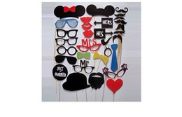 Wholesale Photo Booth Props Photobooth For Wedding Decoration Birthday Party Supplies