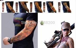 Wholesale Style Nylon Stretchy Fake Tattoo Sleeve Arms Fancy Dress Costume