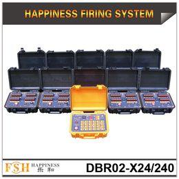 FedEX / DHL il trasporto libero, 500M artificio di controllo del sistema a distanza di tiro, 240 spunti pirotecnico fuoco del sistema, la felicità nuovo sistema di cottura, in vendita