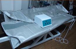 Wholesale 3 Heat zones sauna slimming spa thermal blanket sauna heating blanket free ship via DHL