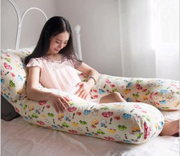 Wholesale Multifunctional U Shaped Maternity Total Body Pillow Cartoon Car PP Cotton Pregnant Woman Waist Support Breast feeding Cushion Pillows