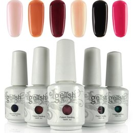 El polaco de clavo de Nexu Gelish 12pcs / lot empapa del polaco del gel del clavo (capa superior + 1pc del gel + 1pc del color 10pcs) 403 ¡Nuevos colores!