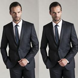 Discount Black Suit White Shirt Red Tie | 2017 Black Suit White ...