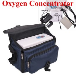 Wholesale 2014 Brand New CE FDA Portable Oxygen Concentrator house and traval use Free shiping by DHL