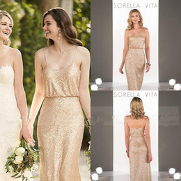 Long gold dress under 100