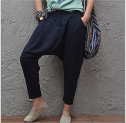Cotton Linen Pants Women Leisure Online | Cotton Linen Pants Women ...