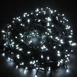 Connectable Outdoor Christmas Lights: Discount connectable outdoor christmas lights Wholesale-LED String Light  131Ft 300 LEDs 8 Function Indoor,Lighting