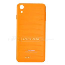 Reemplazo DOOGEE VALENCIA DG800 batería nuevo caso de la cubierta de Orange