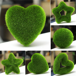 discount artificial plants for offices artificial moss ball star for potted plant green ornament home office artificial plants for office decor