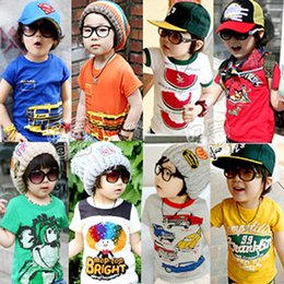 Wholesale Hot Sale New Fashion Summer Leisure Boys And Girls Baby Short Sleeved T shirt For Years Children s Wear