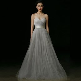 Simple Grey Wedding Dresses Online | Simple Grey Wedding Dresses ...