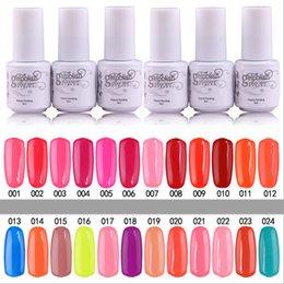 Wholesale YeManNvYou Top Quality Long lasting Colors soak off gel polish nail UV gel lacquer varnish for gelish nail polish uv gel Color ml