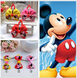 Wholesale Children Hair Accessories Girl Cartoon Bow Hair Clips Korean Kids Headwear Girl Accessories Barrettes S18D47