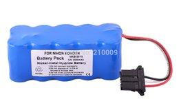 Wholesale Replacement Nihon Kohden Defibrillator X065 TEC TEC TEC C ECG ECG TEC TEC TEC C BATTERY