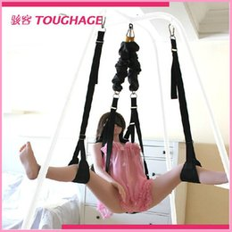 Wholesale Body Ceiling Sex Swing Bungee Rope Adult Product Sex Toy Suspended Love Position TOUGHAGE Sex Furniture for Couples