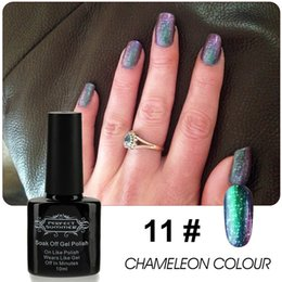Wholesale perfect summer Chameleon Mood Nail Lacquer Color Changing long lasting Magic Nail Gel Polish Newest TC10