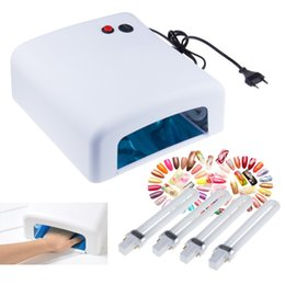 Wholesale 2015 New V W EU Plug Gel UV Curing Professional Ultraviolet Lamp Light nail Dryer Nail Art