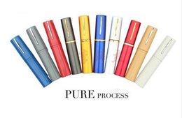 Wholesale Hot sale metal reading with pen clic reading glasses Tube reading glasses