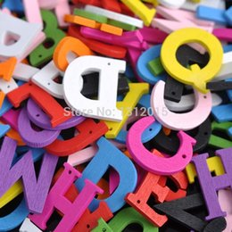 50pcs 20mm mixed letters alphabet nonporous wooden decorative garment accessories fit glued scrapbooking crafts jg 001