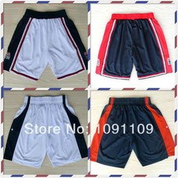 Wholesale 1992 and USA Dream Team Basketball Shorts For Men