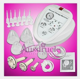 Wholesale EU tax FREE size cups Breast Enlargement Enhancement Pump Bra Great Vacuum Therapy Breast Massager beauty equipment