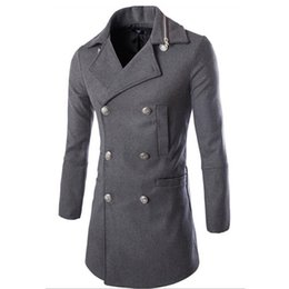 Discount Mens Pea Coats Sale | 2017 Mens Winter Pea Coats Sale on ...