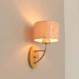 wooden grain wall lights home lighting cheap lamp led bedroom corridor dinningroom l34cm wood base light supplies cheap wall lighting