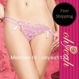 Wholesale Best Price Sexy String Panty Brief Thong Sexy Lingerie And Retail High Quality Color Pink P3716