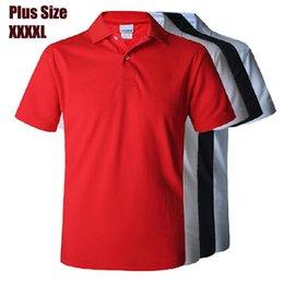 Wholesale New Summer Polo T shirts For Men Embroidery Logo Classic Colors Mens Camisas Polo shirt Plus size XXXL XXXXL XL XL