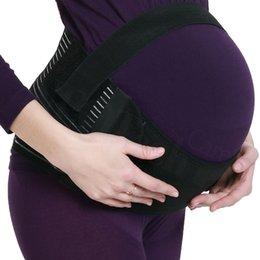 Maternidade Suporte traseiro Belt Brace Belly Abdomen Band, tamanho S, M, L Grávida Belly Band Cinto Cor Branco