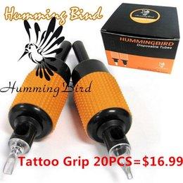 Wholesale Hot sale box mm Humming Bird Tattoo Grip Size Mix For Tattoo machine Tattoo Artist