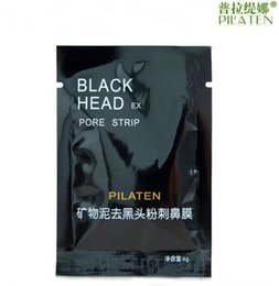 Wholesale 1000pcs PILATEN Tearing Deep Cleansing Purifying Peel off Blackhead Close Pores Face Mask Remove Cleaner Black Head Facial Mask Nose Care