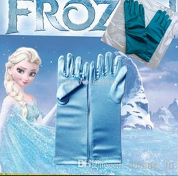 Wholesale NEW froze Gloves Extra Long Stage custome Elsa Accessory Gloves LJJA178 pair