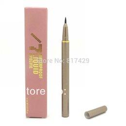 Wholesale new Hot selling NAKE Black Liquid Eyeliner Pen Brand Waterproof EyeLiner pencil Makeup set