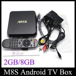 Discount 4k streaming M8S KODI 4K TV Amlogic S812 A9 Quad Core 2GB 8GB MINI PC Stream Android Media Player IPTV Full HD 3D Films OTH113