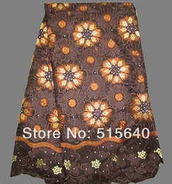 Wholesale black color african swiss lace fabric for wedding dresses with stones amy lace fabric AMY2529K