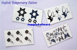 Wholesale Stylish Temporary Tattoo Stickers Woman Men Waterproof Best Cover Scar Cute Stickers Hote Selling