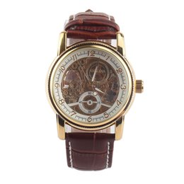 discount self winding watches men 2017 self winding watches for discount self winding watches men luxury gold watches men fashion new leather strap automatic self