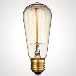 wholesale new e26 e27 edison blub vintage pendant lights blub brass copper holder amber color amber pendant lighting